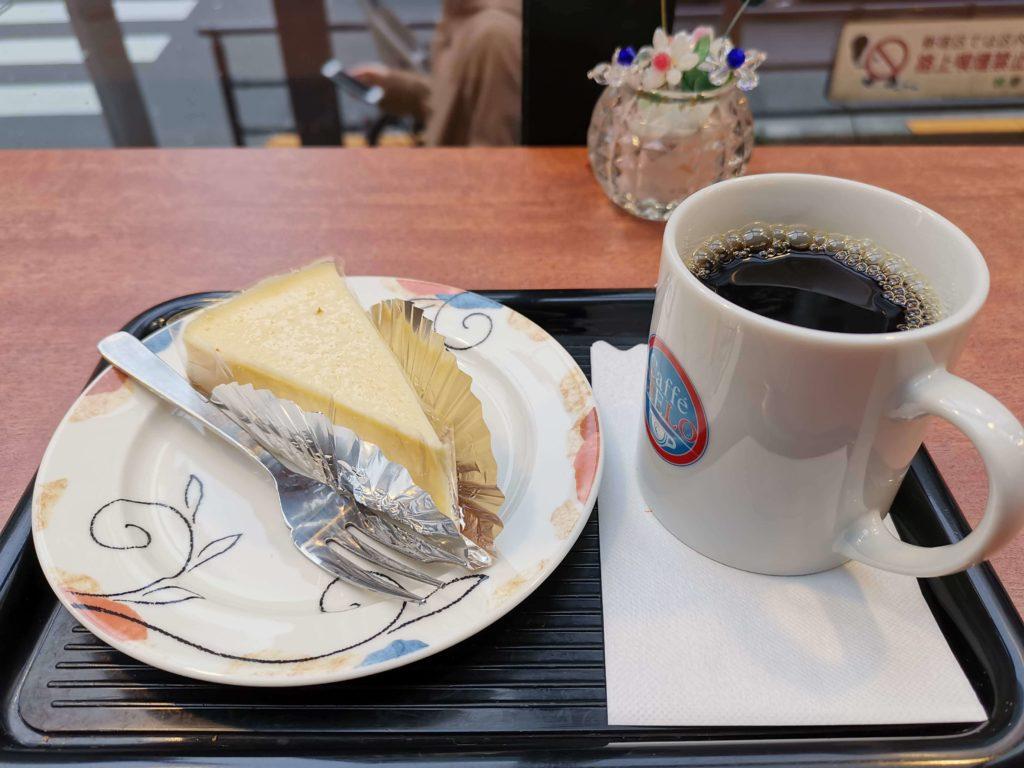 高田馬場 カフェシエロ ニューヨークチーズケーキ (9)