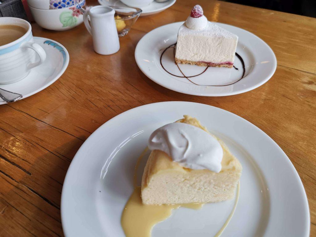 浅草 カフェムルソー チーズケーキ