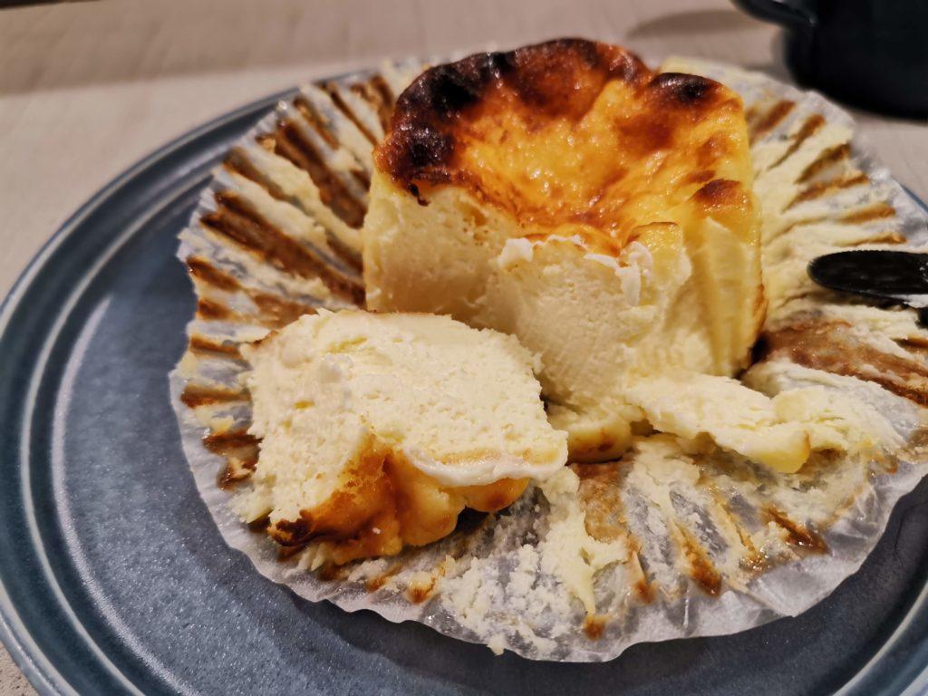 天満橋 パティスリーカツラ バスクチーズケーキ (6)