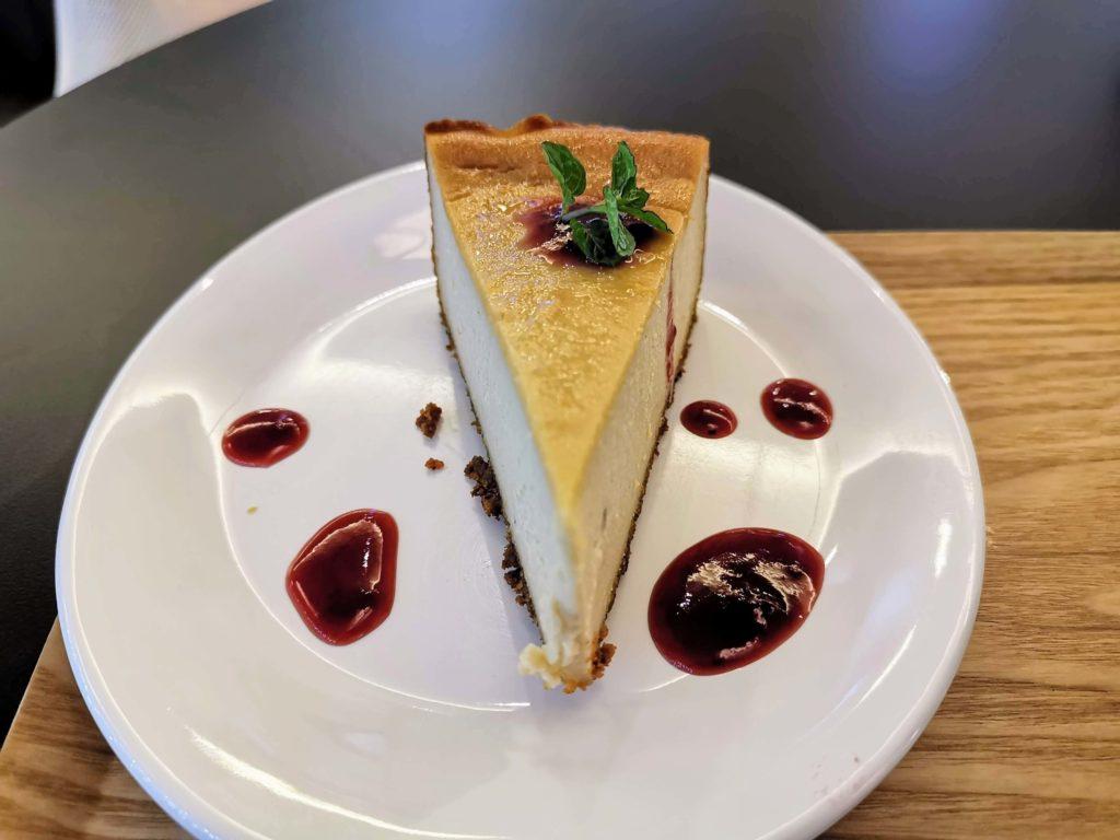 HealthyTOKYO Cafe & Shop ヴィーガンチーズケーキ
