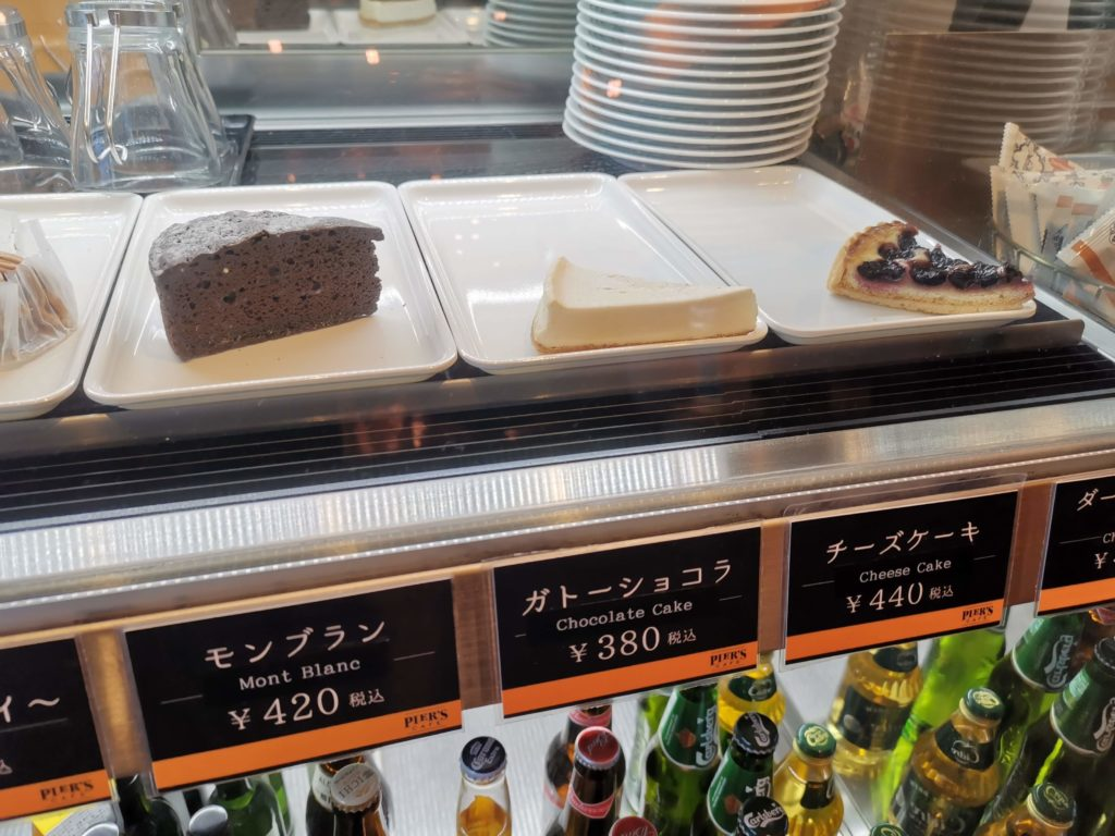新宿 pier's cafe チーズケーキ (3)