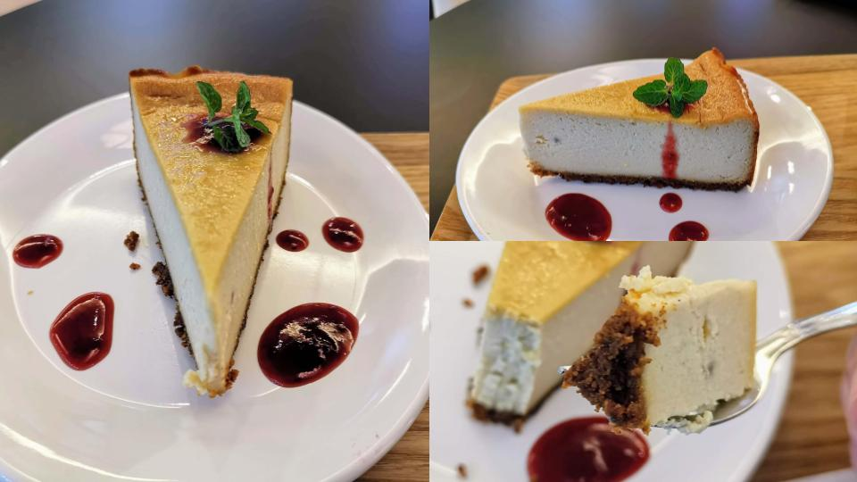 HealthyTOKYO Cafe & Shop ビーガンチーズケーキ