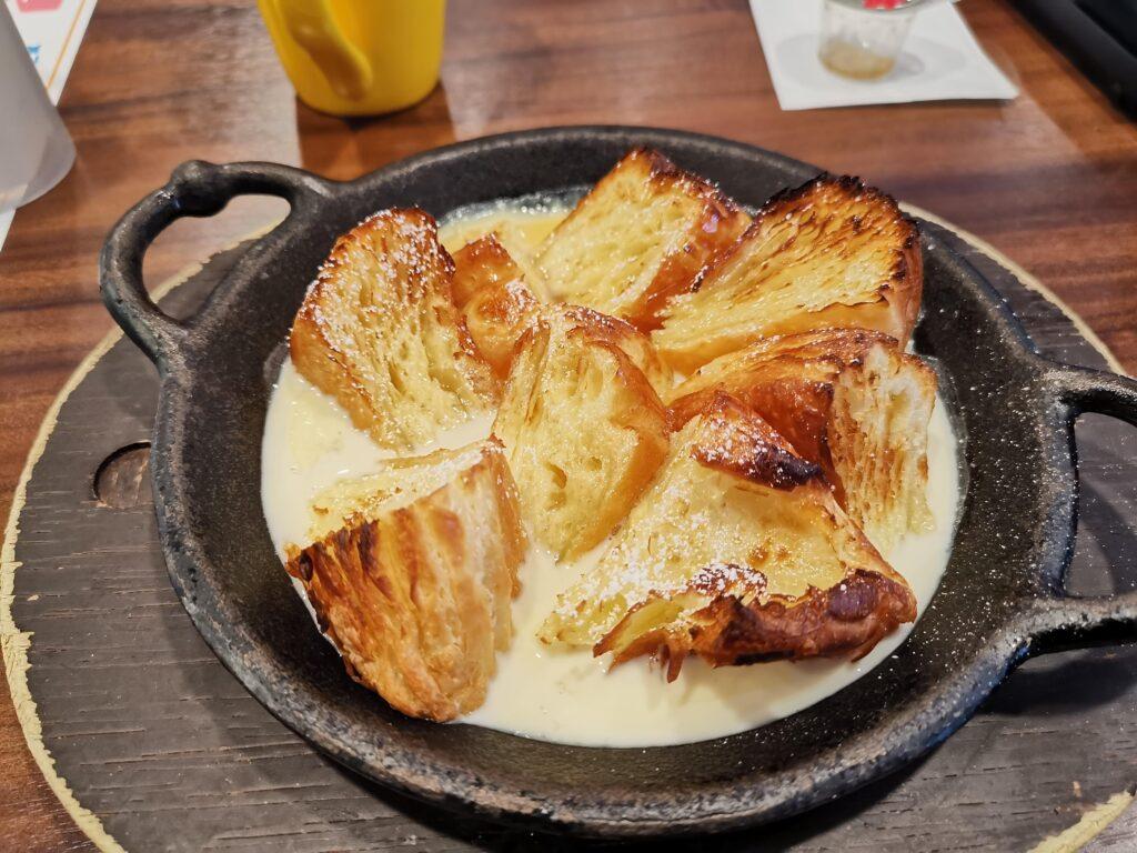 ジョナサン デニッシュのフレンチトーストの写真