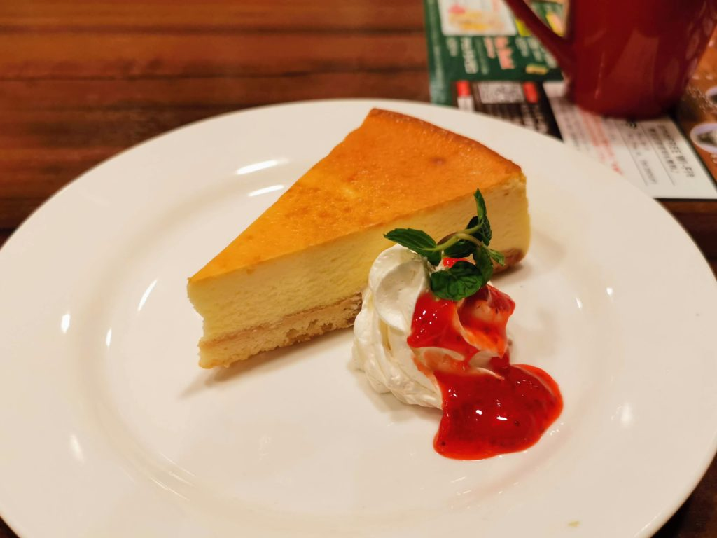 ジョナサン ベイクドチーズケーキ (2)