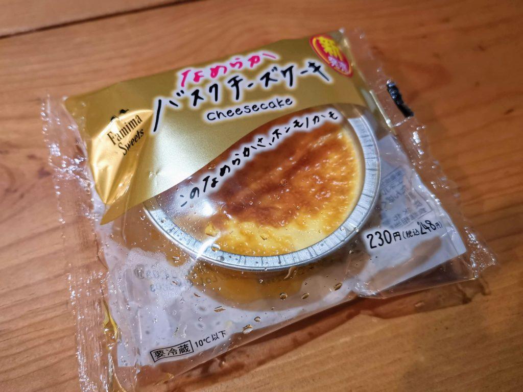 ファミリーマート ロピア なめらかバスクチーズケーキ (10)