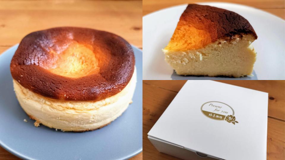 椿屋珈琲 バスクチーズケーキ (2)