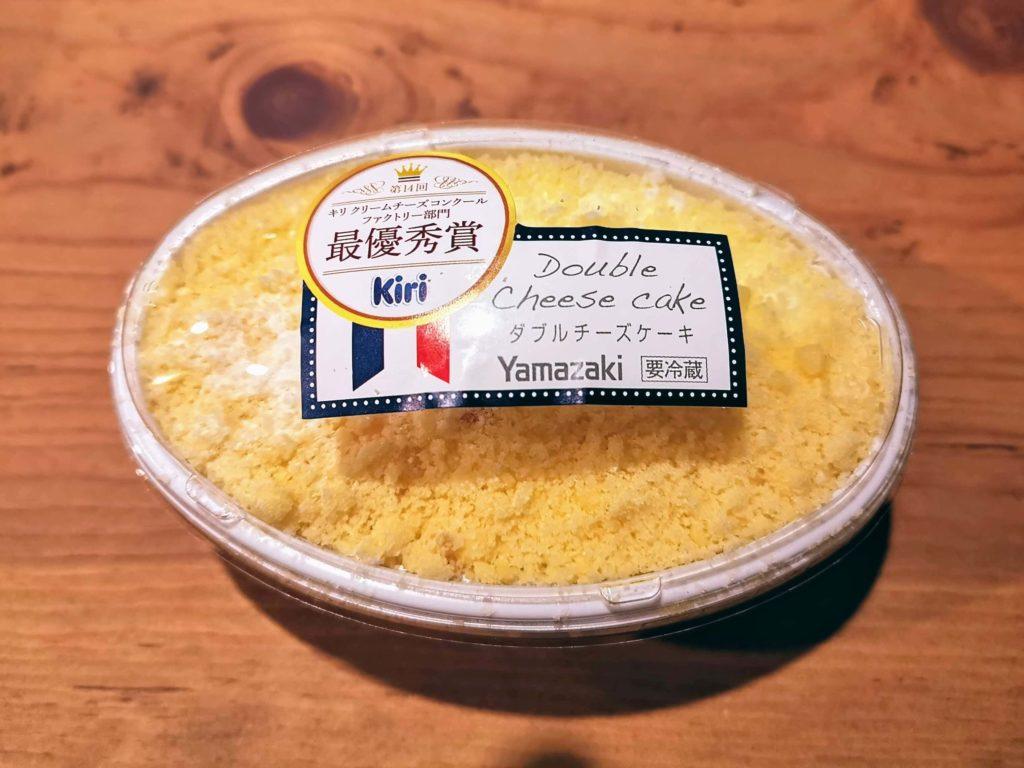 山崎製パン ダブルチーズケーキ (1)