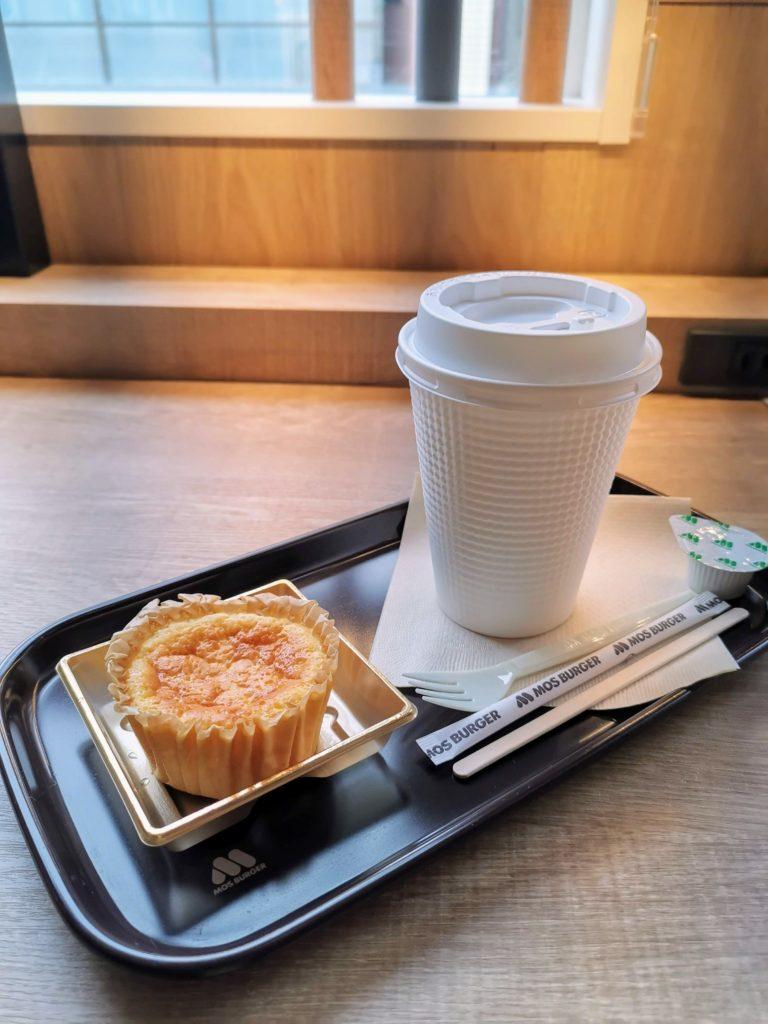 モスバーガー バスク風チーズケーキ (3)