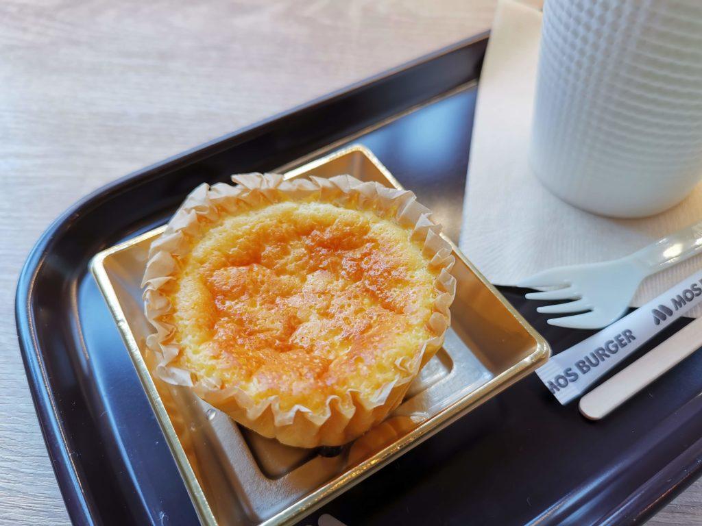 モスバーガー バスク風チーズケーキ (1)