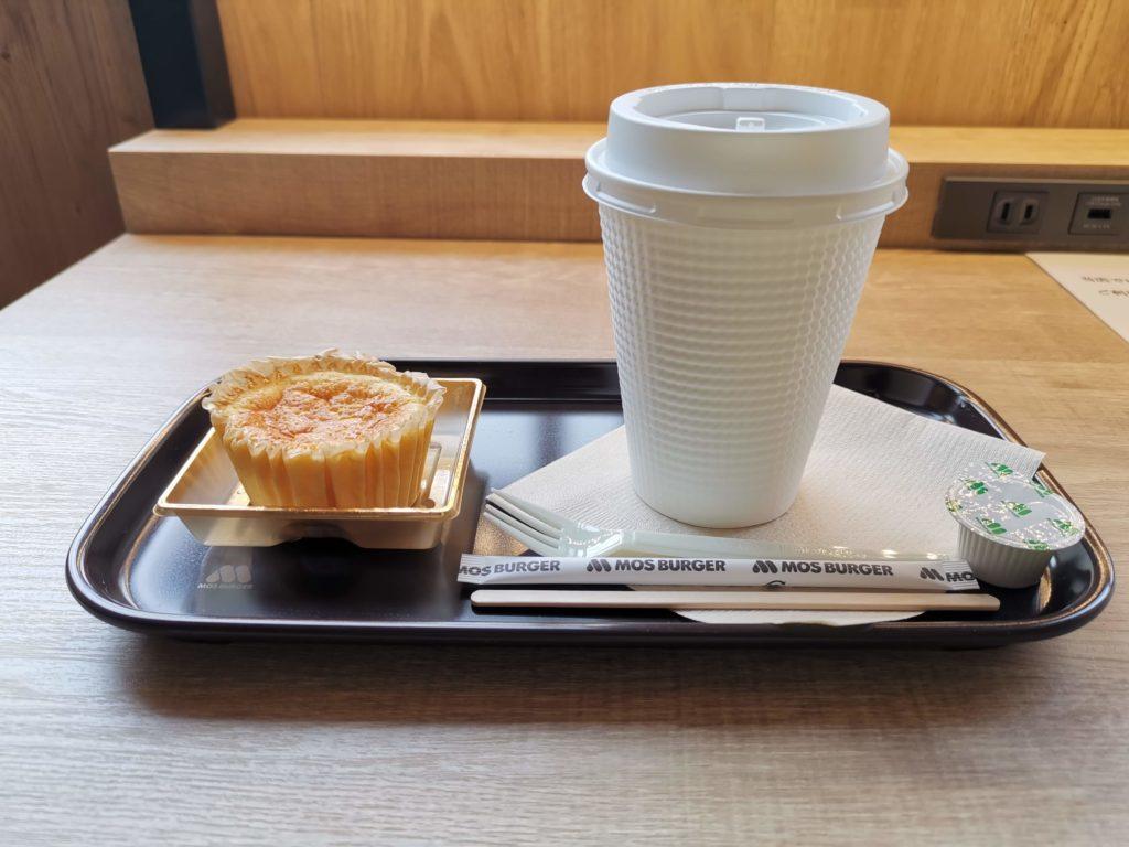 モスバーガー バスク風チーズケーキ (2)