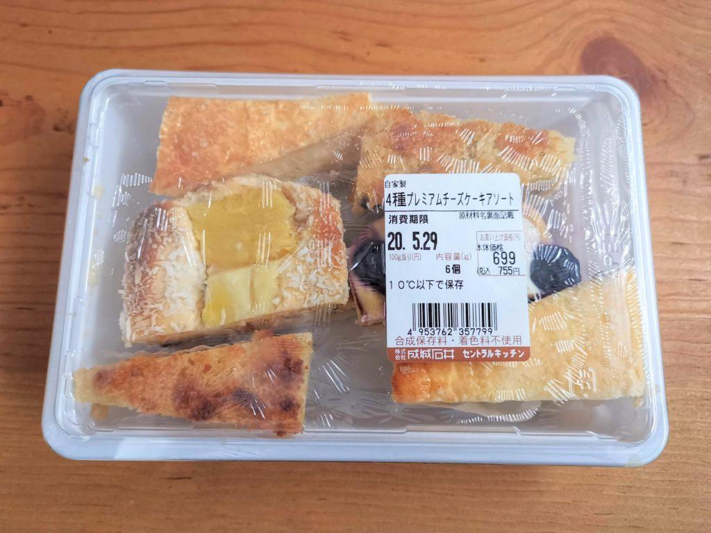 成城石井 4種のプレミアムチーズケーキアソート (3)