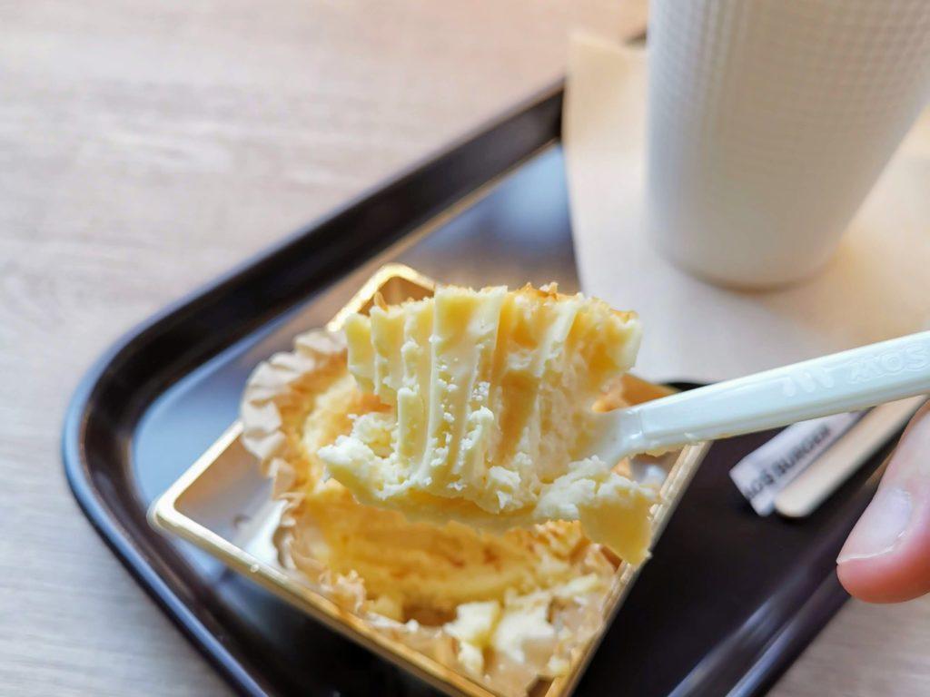 モスバーガー バスク風チーズケーキ