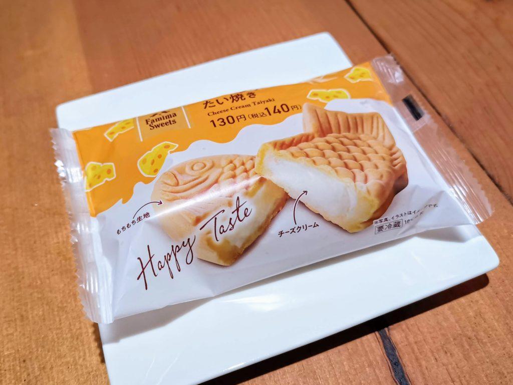 ファミリーマート クリームチーズ たい焼き (5)