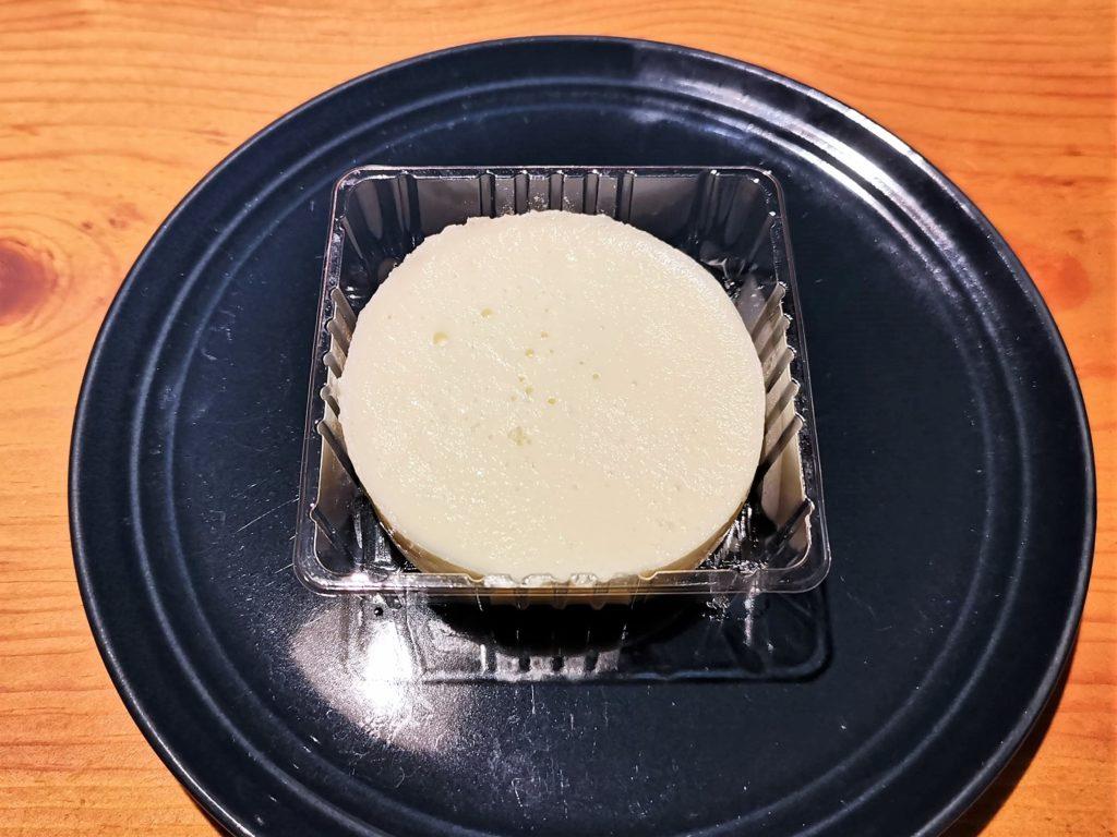 ミニストップ 2層仕立てのチーズケーキ ベイクド&レア (14)