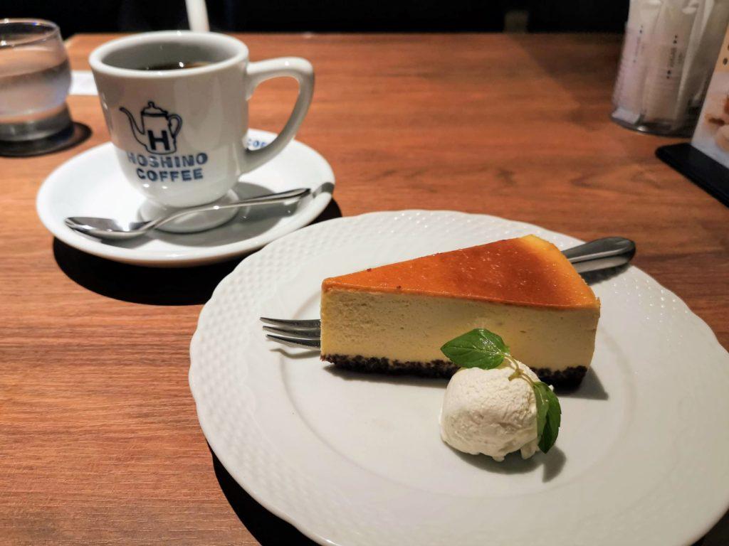 星乃珈琲店 バナナのバスクチーズケーキ (24)