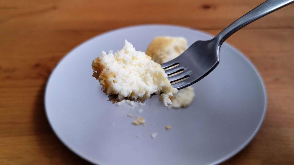 スイーツファクトリー・スリーズ「米粉をつかった北海道クリームチーズのとろける半熟スフレ」 (1)