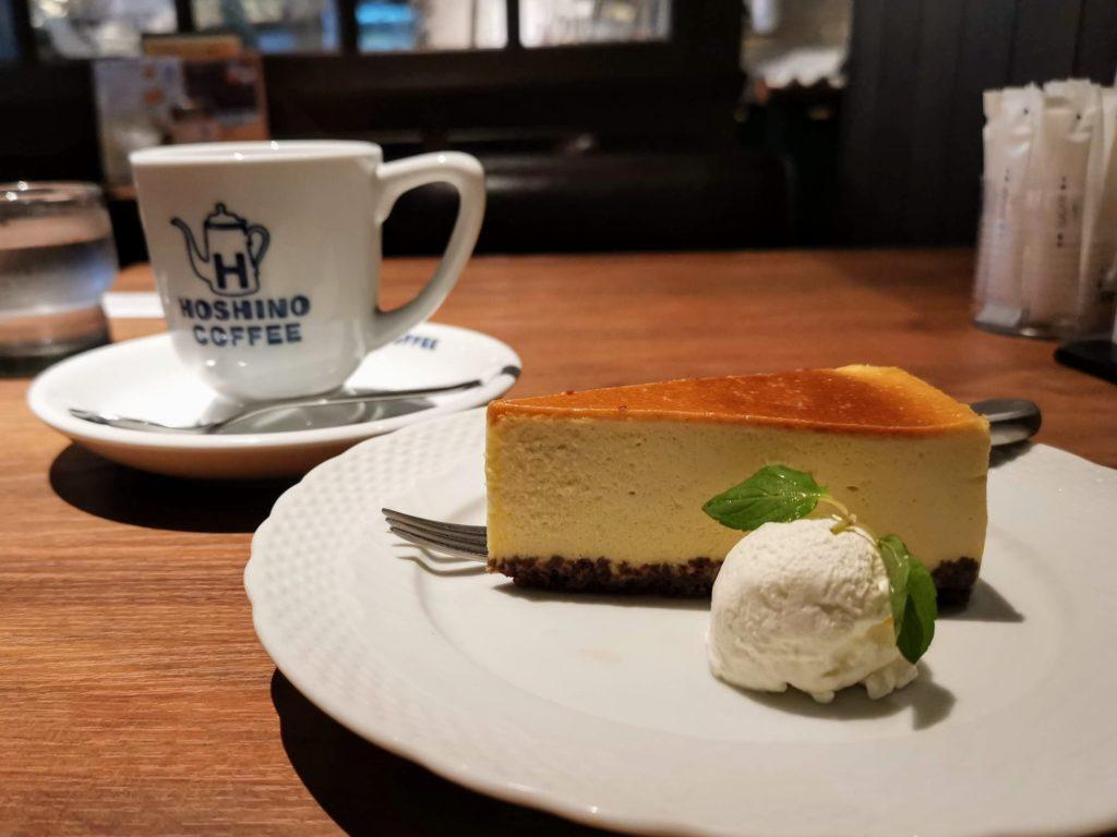 星乃珈琲店 バナナのバスクチーズケーキ (23)