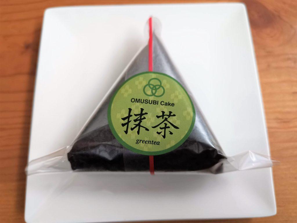おむすびケーキ 抹茶 (2)