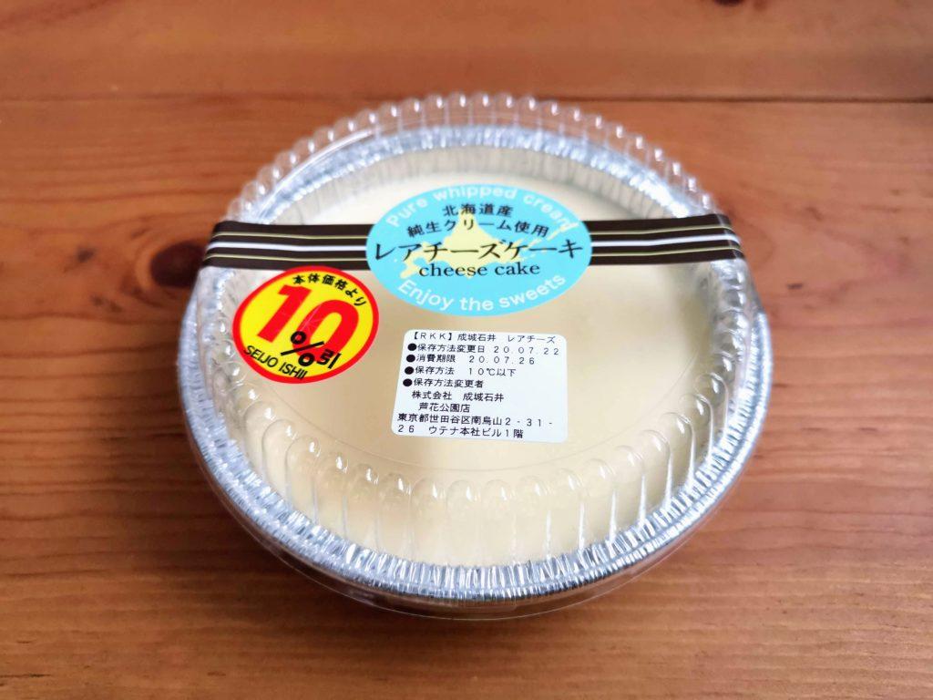 成城石井 レアチーズケーキ (3)