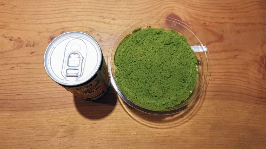 セブンイレブン 2層仕立ての宇治抹茶ドゥーブルフロマージュ (7)