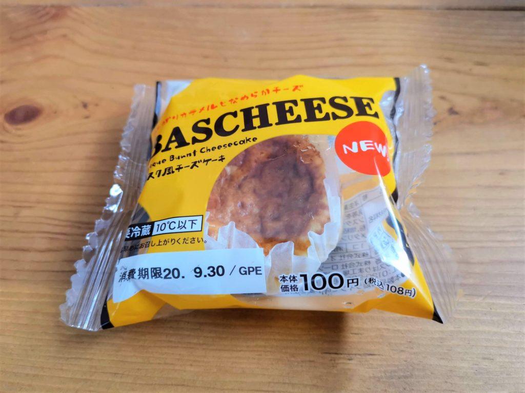 ローソンストア100 バスク風チーズケーキ BASCHEESE