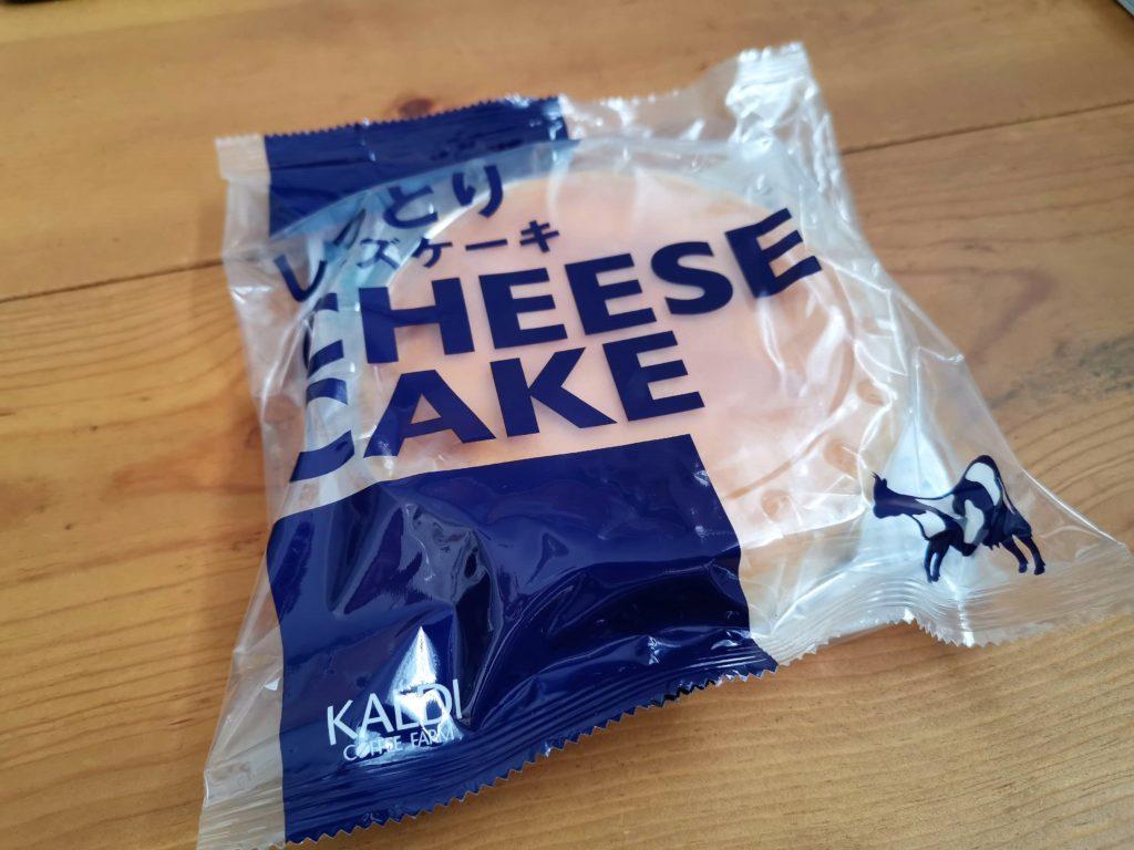 カルディ しっとりチーズケーキ (1)