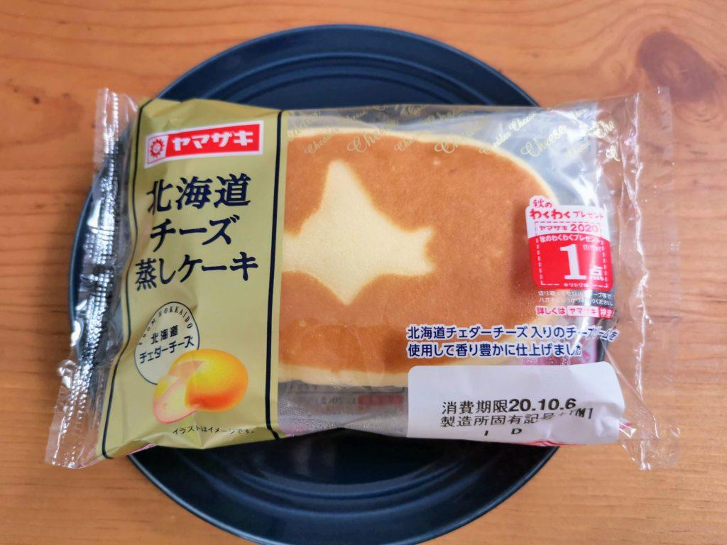 山崎製パン 北海道チーズ蒸しケーキ (1)