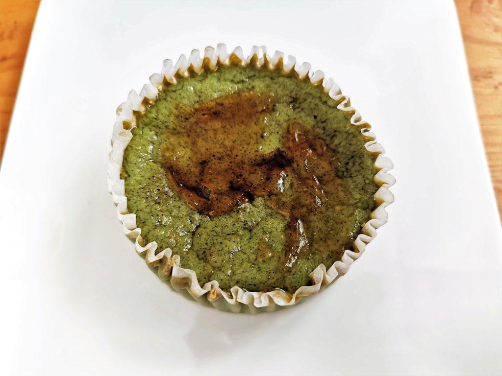ミニストップ ドンレミー 抹茶バスクチーズケーキ (4)