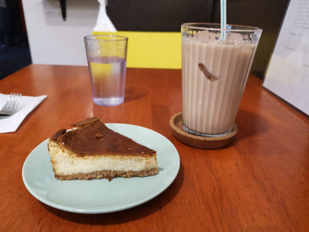 アラビックカフェ & デリ アブイサーム チーズケーキ (1)_R