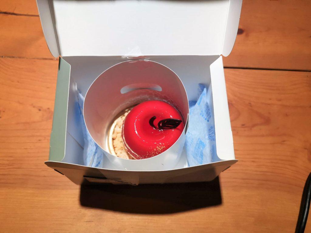 銀のぶどう銀のぶどう 真っ赤りんごのレアチーズ (5)_R チーズケーキ かご盛り白らら (15)_R