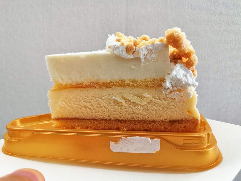 ドンレミー ザ・チーズケーキ レア&ベイクド 2層のドゥーブルフロマージュ (1)