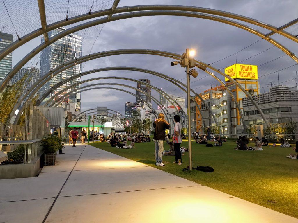 渋谷宮下パーク 屋上
