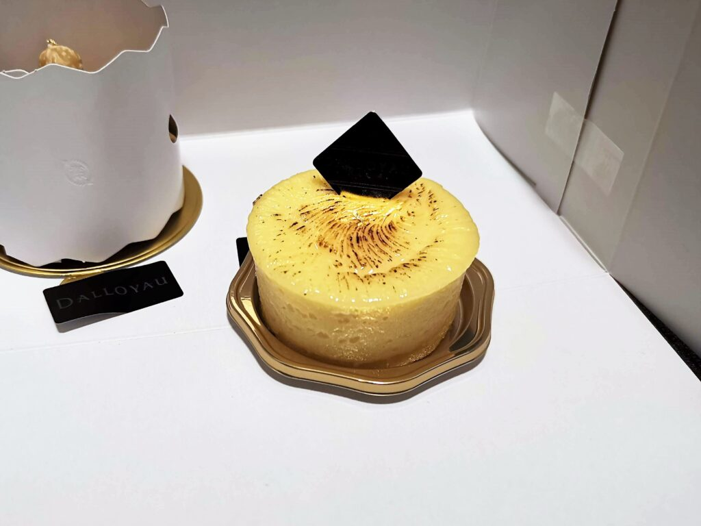 ダロワイヨ(DALLOYAU) バスク風チーズケーキ (6)_R