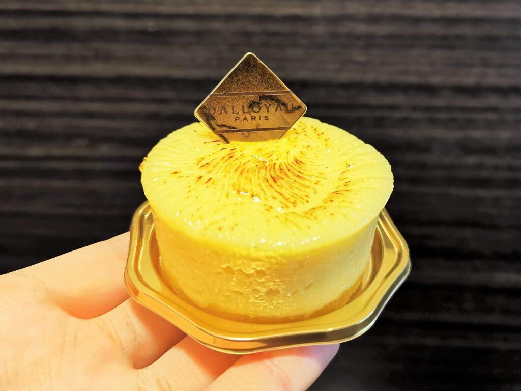 ダロワイヨ(DALLOYAU) バスク風チーズケーキ (3)_R