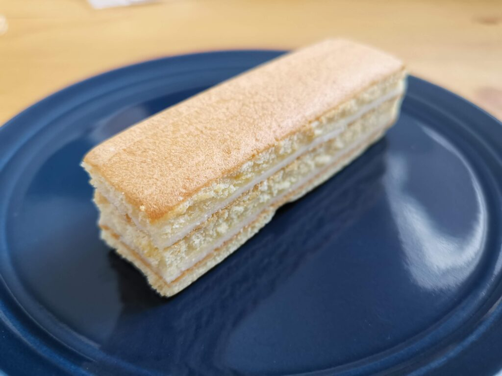 ブルボン 濃厚ベイクドチーズケーキ (4)