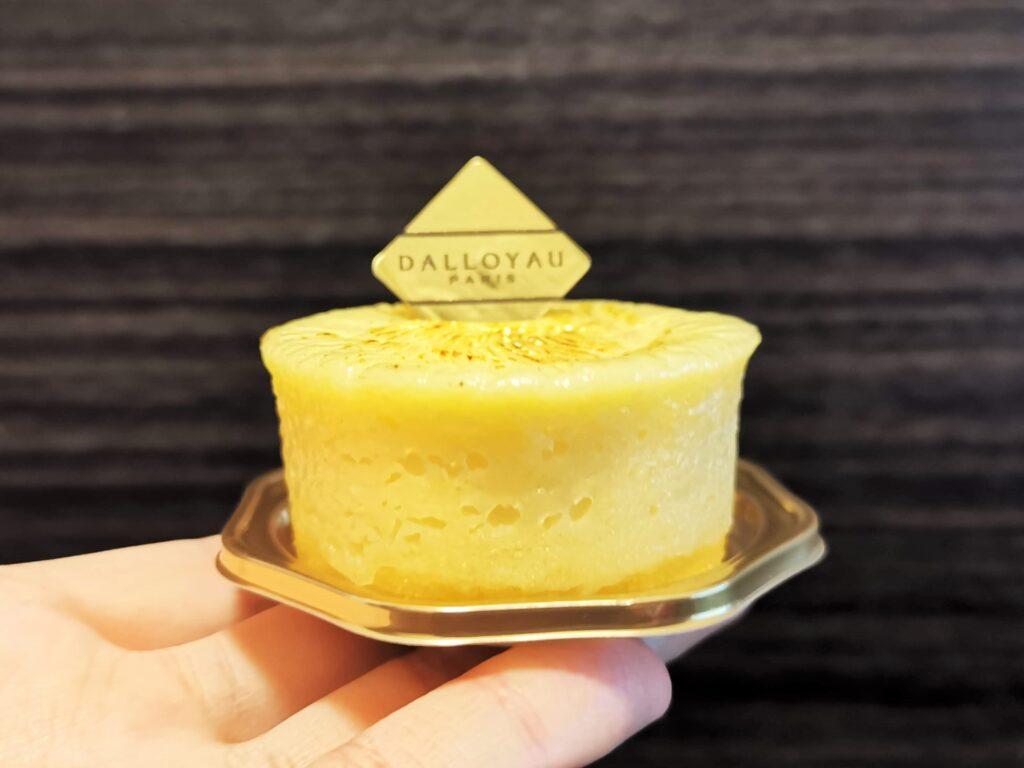 ダロワイヨ(DALLOYAU) バスク風チーズケーキ