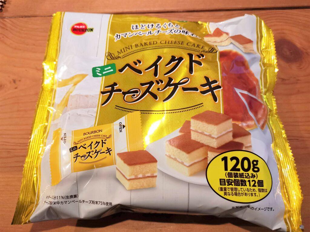 ブルボン ミニベイクドチーズケーキ (1)