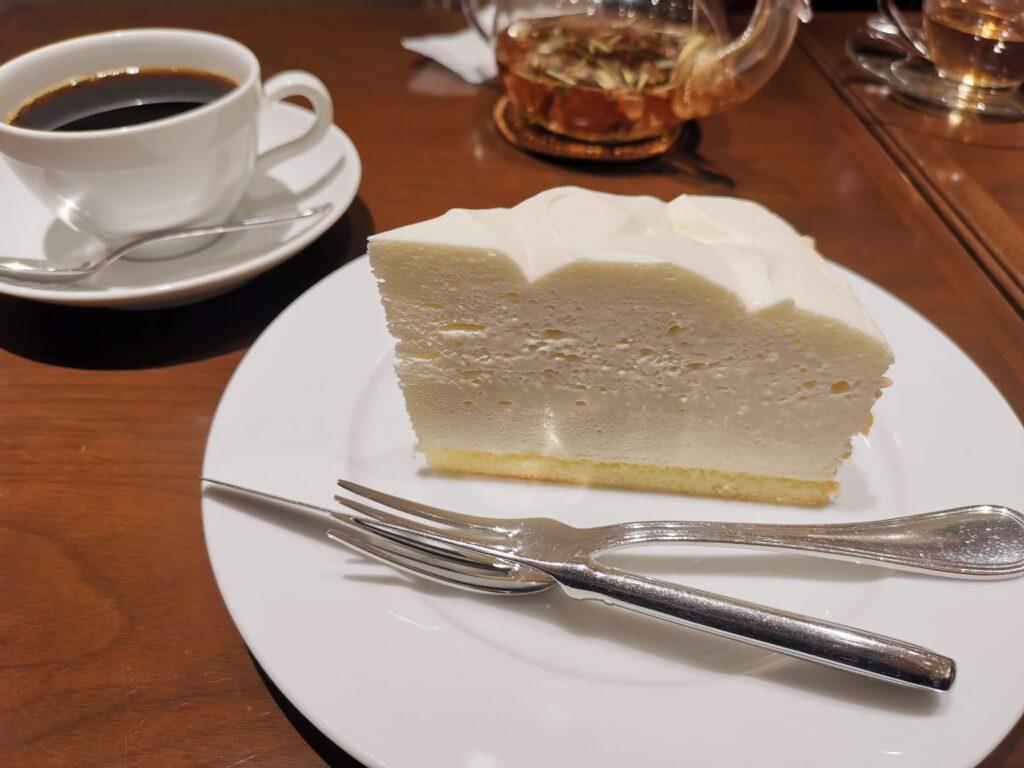 ハーブス(HARBS)のレアチーズケーキの写真