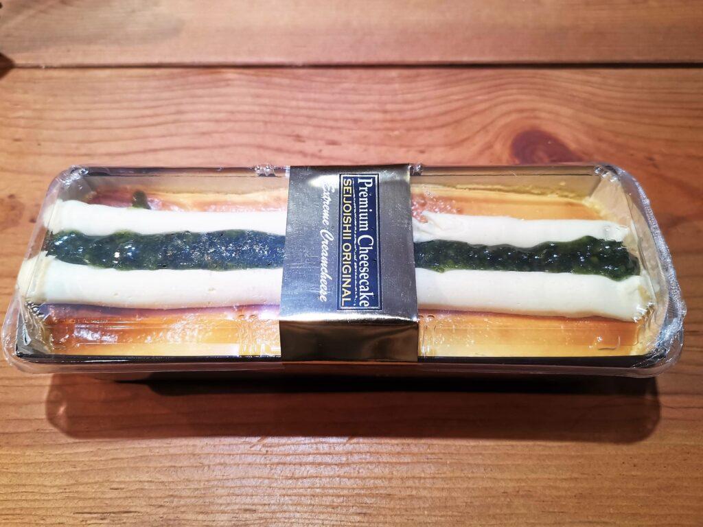 成城石井 プレミアムチーズケーキ(イタリアン産シチリアレモンのチーズケーキ)の写真 (2)