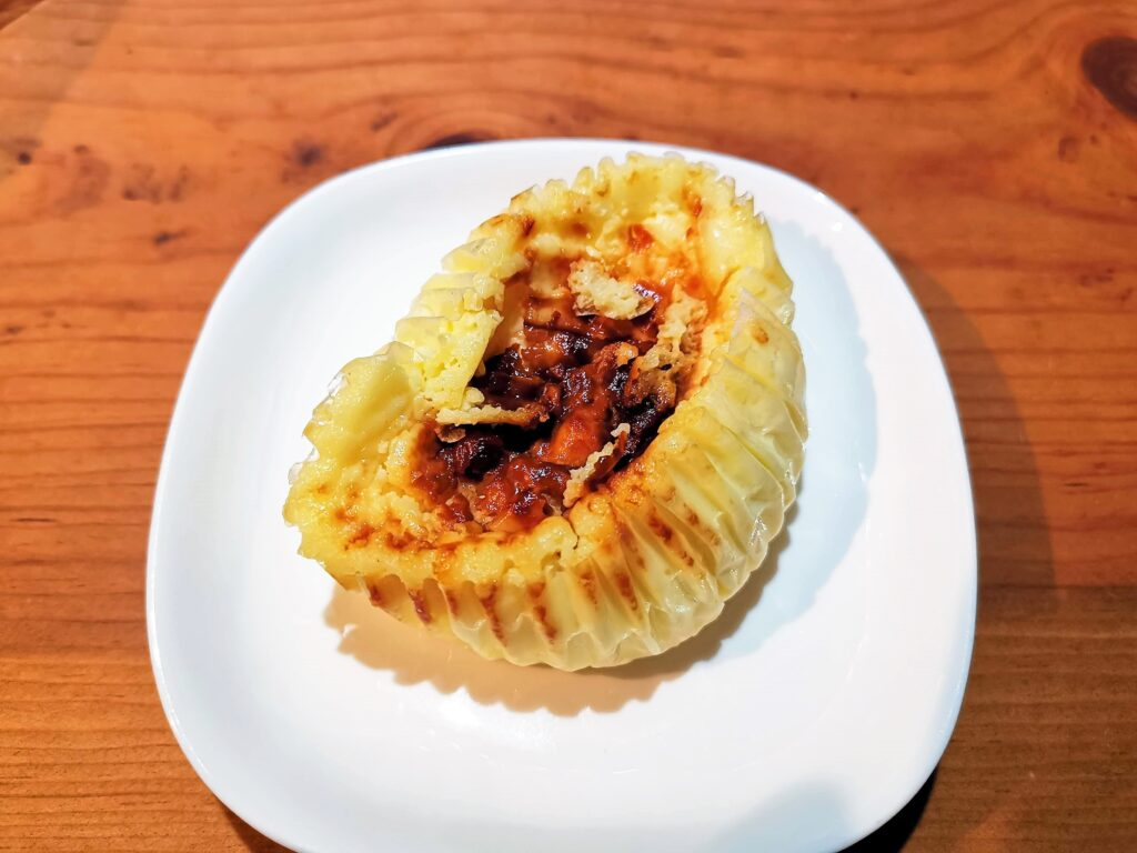 サミット 北海道産直牛乳を使ったバスクチーズケーキ (2)_R