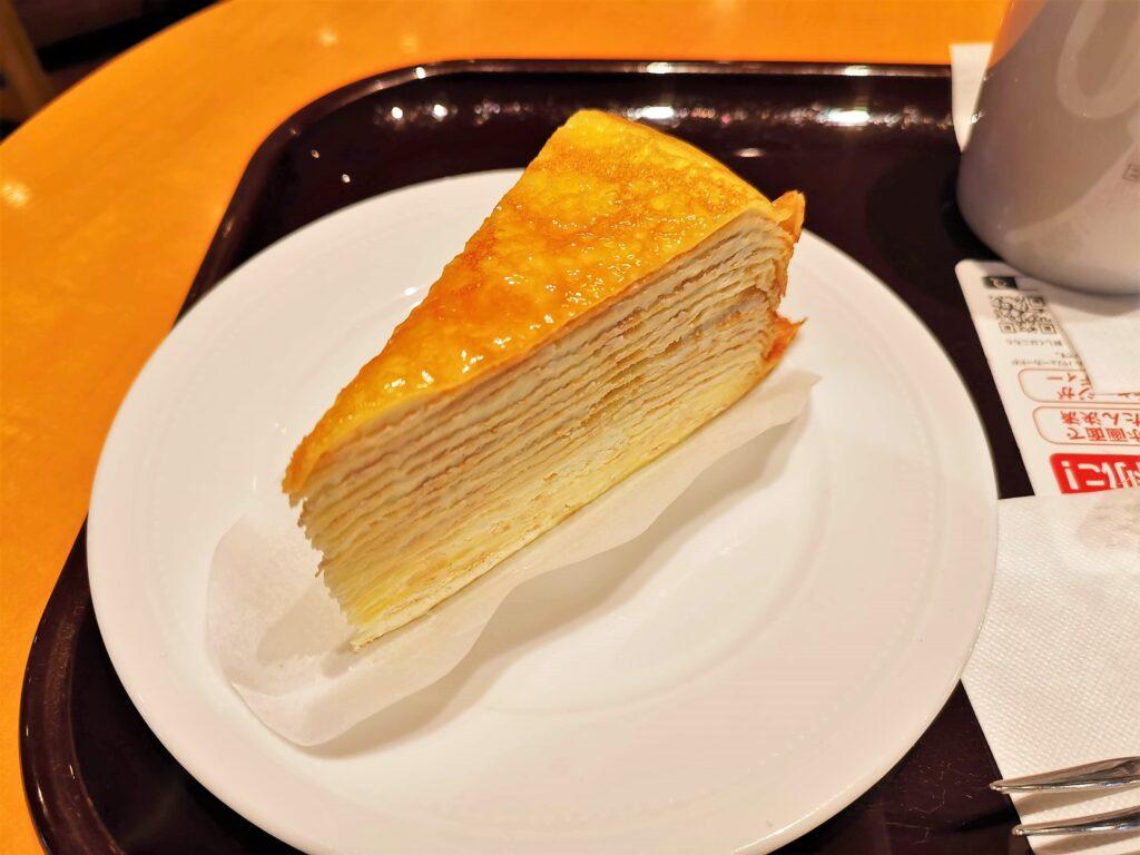 エクセルシオールカフェのミルクレープの写真 (1)