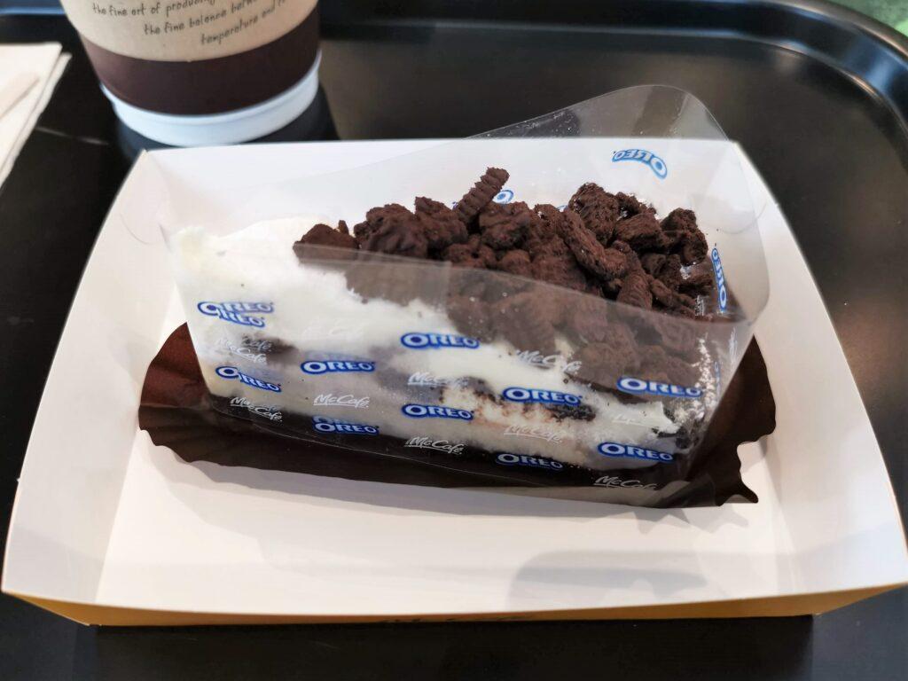 マクドナルド(McCafe by Barista マックカフェ バイ バリスタ)オレオクッキーチーズケーキの写真 (7)