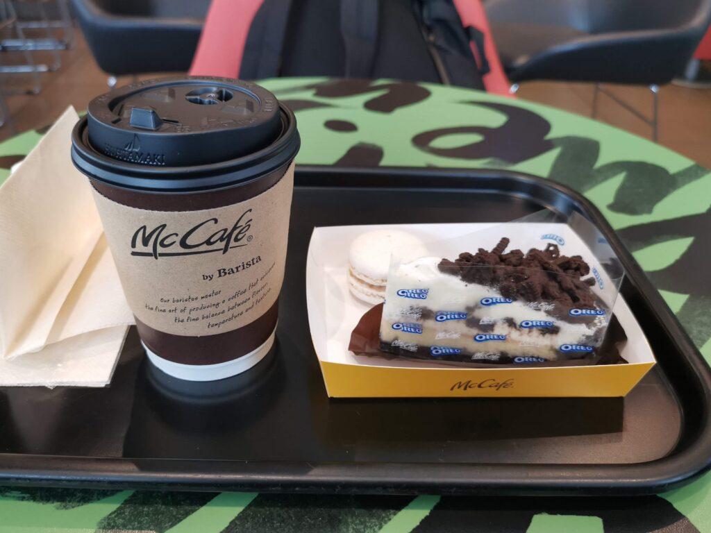 マクドナルド(McCafe by Barista マックカフェ バイ バリスタ)オレオクッキーチーズケーキの写真 (2)