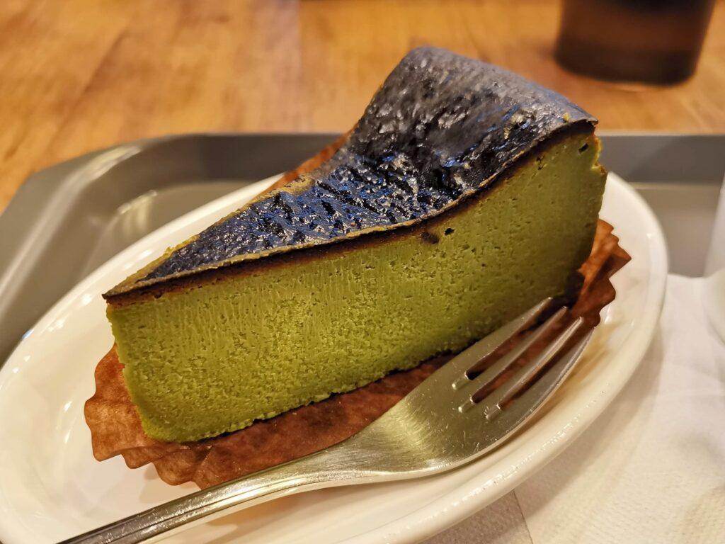プロント STONEMILL MATCHA抹茶バスクチーズケーキの写真 (10)