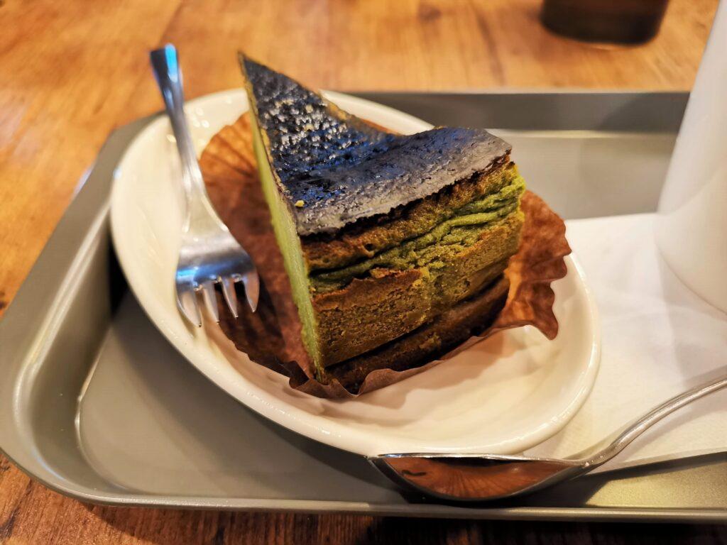 プロント STONEMILL MATCHA抹茶バスクチーズケーキの写真 (5)