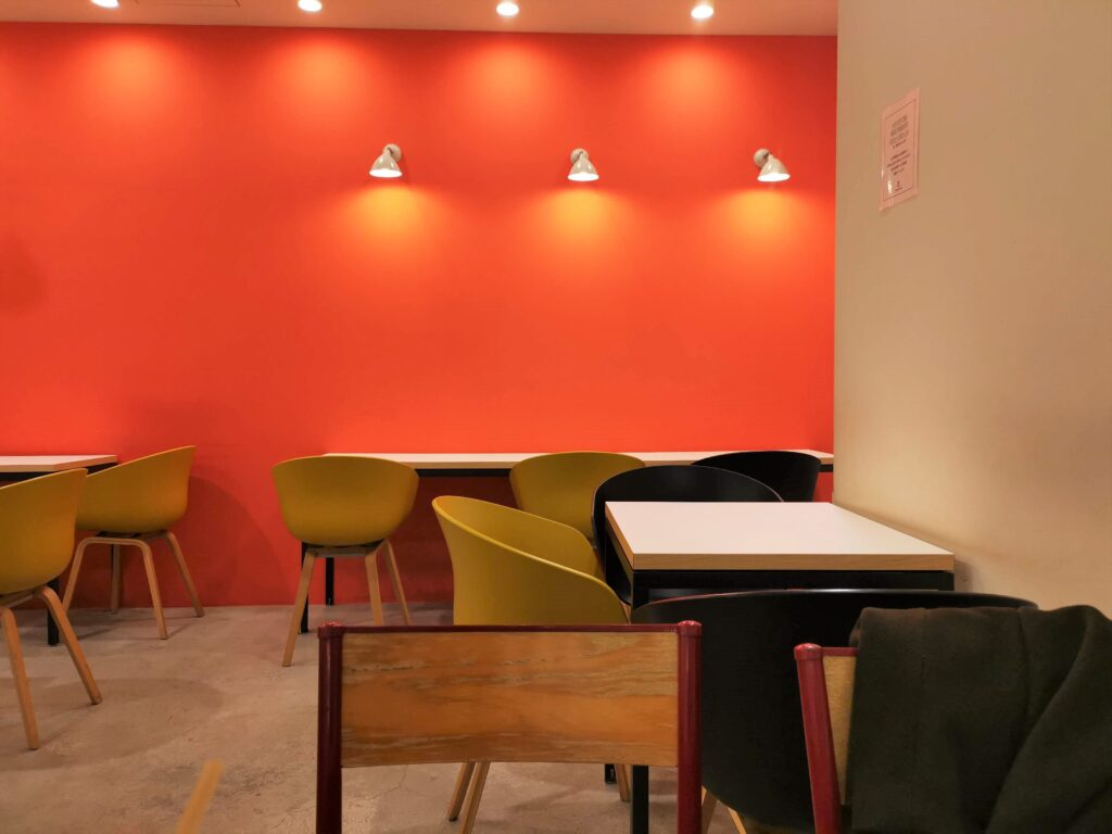 Elmers Green Cafe(エルマーズグリーンカフェ)の店内の写真
