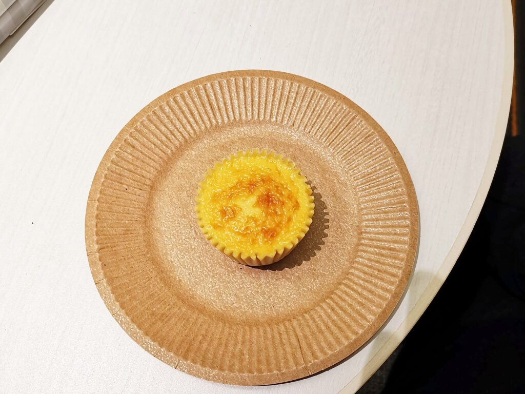大阪・三国ヶ丘のル・グランシャリオのバスクチーズケーキの写真 (8)