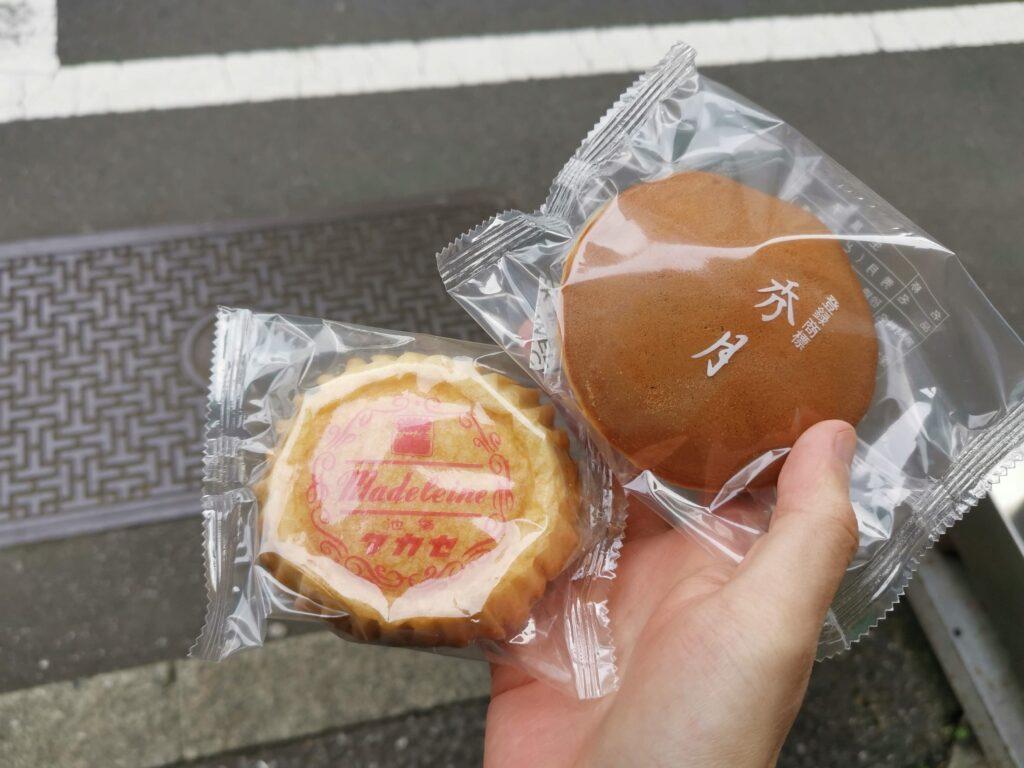 タカセ洋菓子のどら焼きとマドレーヌ (2)_R