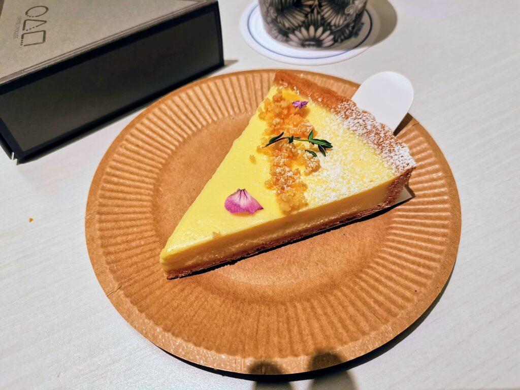 ○△□(マルサンカクシカク)のベイクドレアチーズケーキの写真