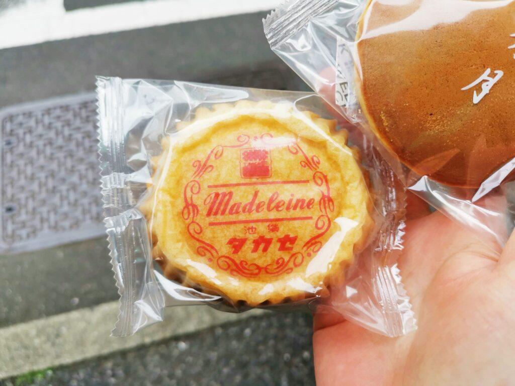 タカセ洋菓子のどら焼きとマドレーヌ (1)_R